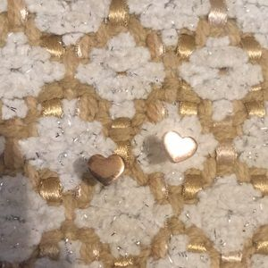 Jewelry - Rose Gold Small Heart Studs